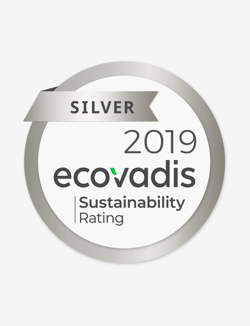 Immagine Ecovadis rating: silver medal
